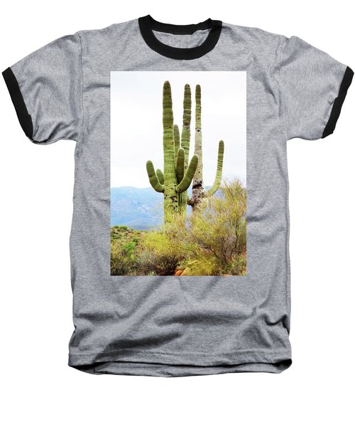 Baseball T-Shirt featuring the photograph Cactus by Angi Parks
