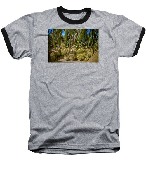Cactus Balls Baseball T-Shirt