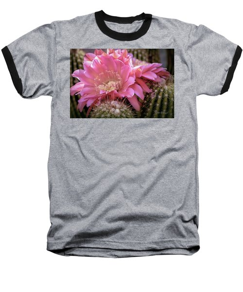 Cactus Bloom Baseball T-Shirt