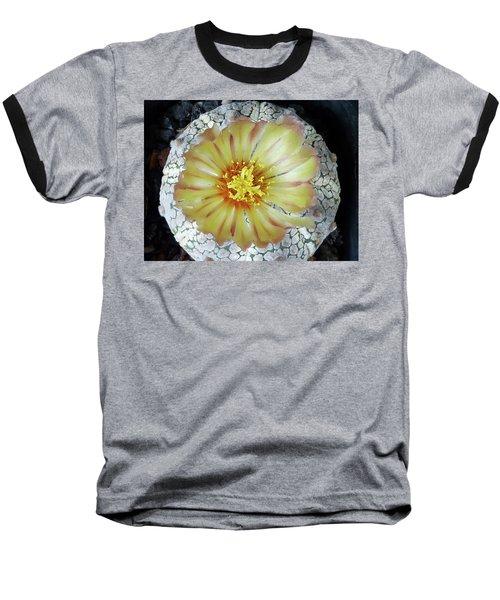 Cactus Flower 2 Baseball T-Shirt