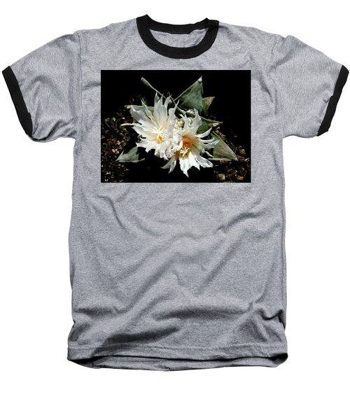 Cactus Flower 9 2 Baseball T-Shirt