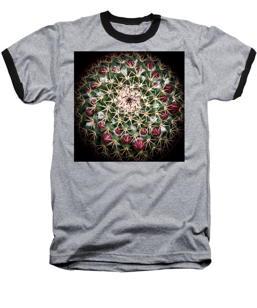 Baseball T-Shirt featuring the photograph Cactus  Flower by Catherine Lau