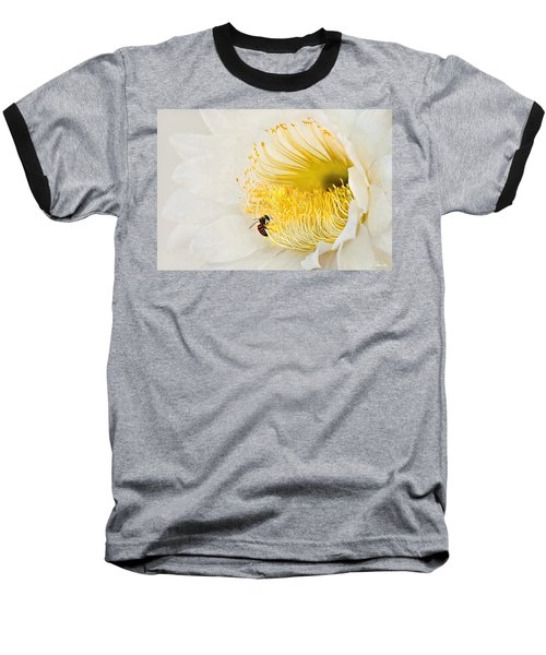 Baseball T-Shirt featuring the photograph Cactus Flower Diner No. 2 by Joe Bonita