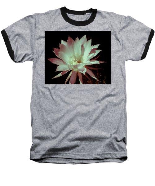 Cactus Flower Baseball T-Shirt