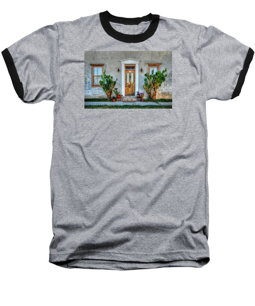 Baseball T-Shirt featuring the photograph Cactus Guards by Ken Smith