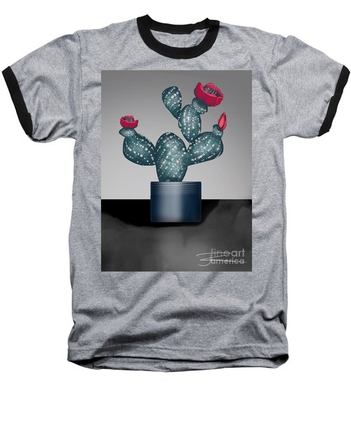 Cactus In Bloom II Baseball T-Shirt