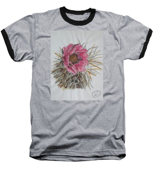 Cactus Joy Baseball T-Shirt by Sharyn Winters