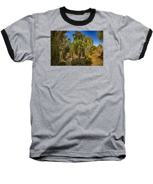 Cactus Jungle Baseball T-Shirt