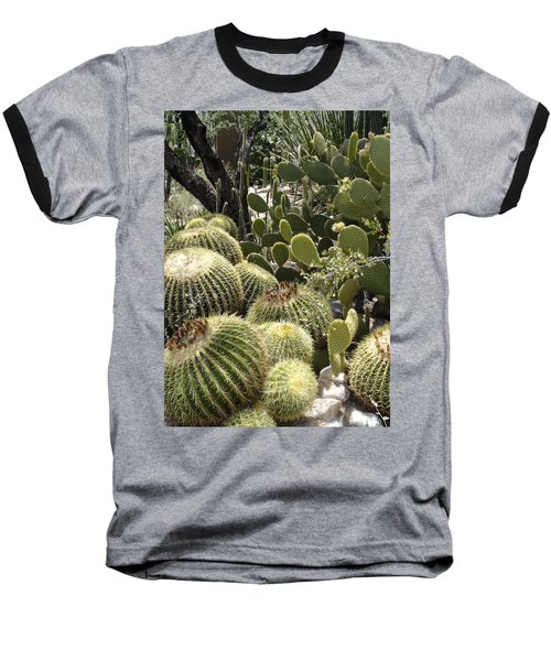 Cactus Life In Arizona Baseball T-Shirt