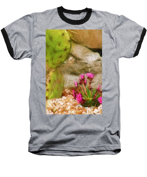 Cactus Lines Baseball T-Shirt