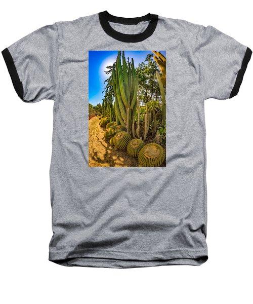 Cactus Promenade Baseball T-Shirt