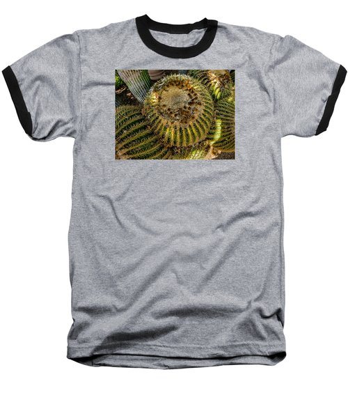 Cactus Sphere Baseball T-Shirt
