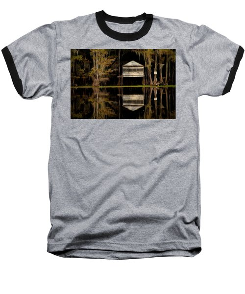 Caddo Lake Boathouse Baseball T-Shirt
