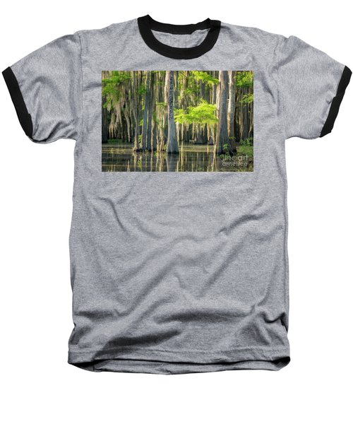 Caddo Swamp 1 Baseball T-Shirt