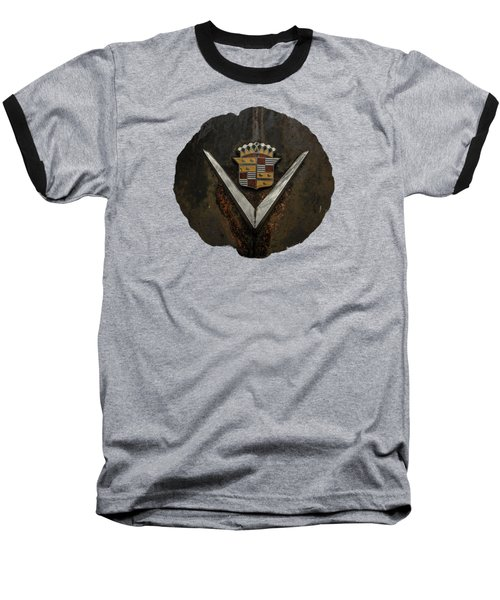 Caddy Emblem Baseball T-Shirt