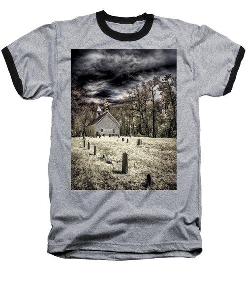 Cades Cove Church Baseball T-Shirt