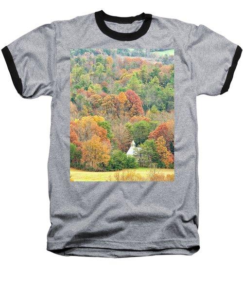 Cades Cove Methodist Church Baseball T-Shirt