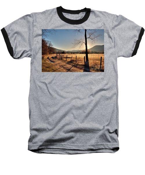 Cades Cove, Spring 2017,i Baseball T-Shirt by Douglas Stucky