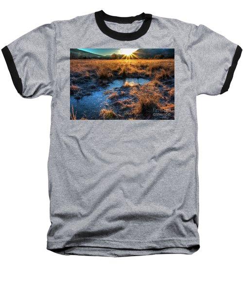 Cades Cove, Spring 2017,ii Baseball T-Shirt by Douglas Stucky