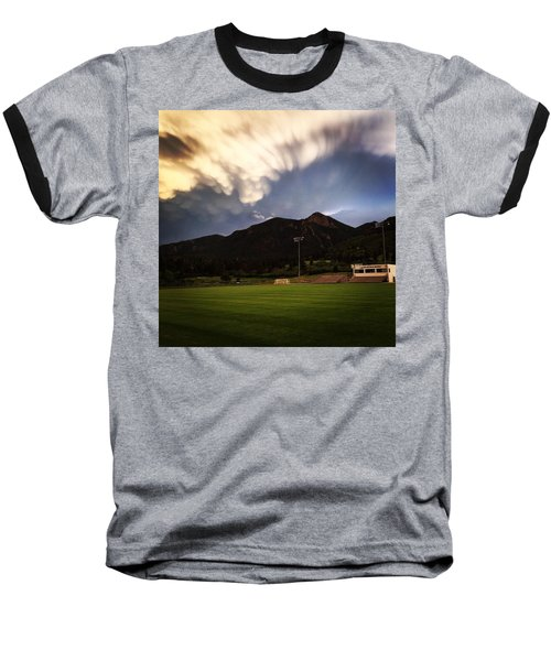 Cadet Soccer Stadium Baseball T-Shirt by Christin Brodie