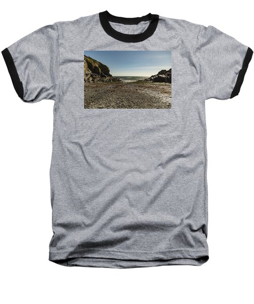 Cadgwith Cove Beach Baseball T-Shirt