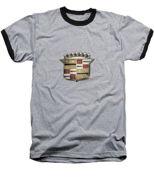 Cadillac Badge Baseball T-Shirt