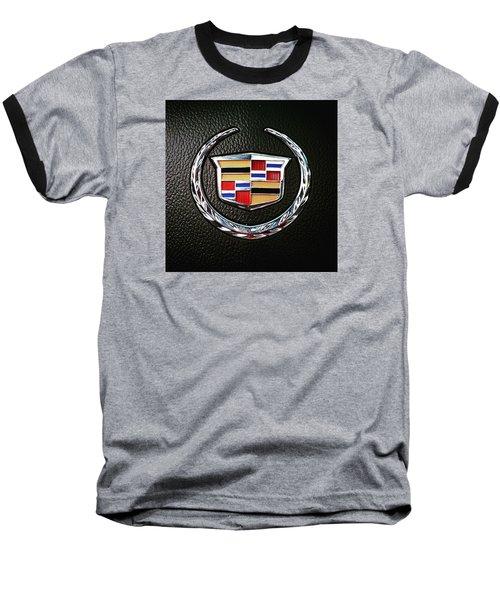 Cadillac Emblem  Baseball T-Shirt