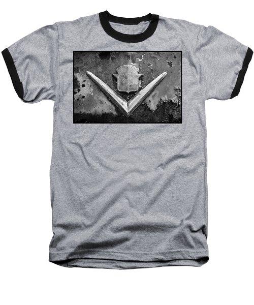 Cadillac Emblem On Rusted Hood Baseball T-Shirt