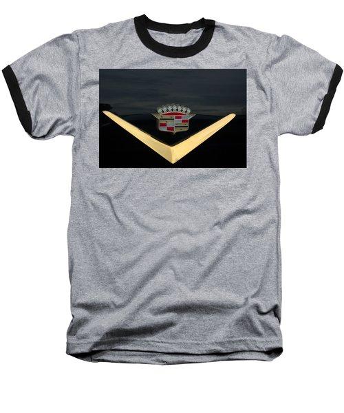 Cadillac Hood Emblem Baseball T-Shirt
