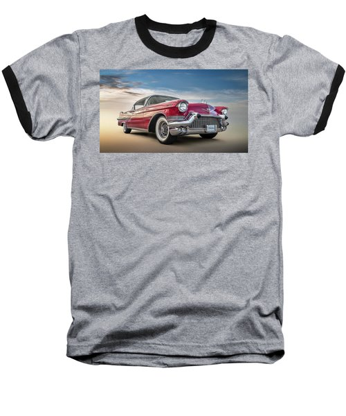 Baseball T-Shirt featuring the digital art Cadillac Jack by Douglas Pittman