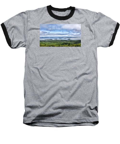 Cadillac Mountain View - Acadia National Park Baseball T-Shirt