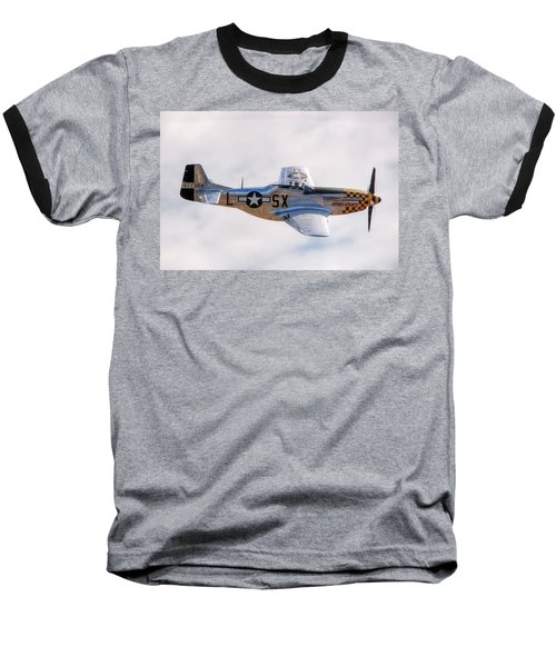 Cadillac Of The Sky  Baseball T-Shirt by Jeff Cook