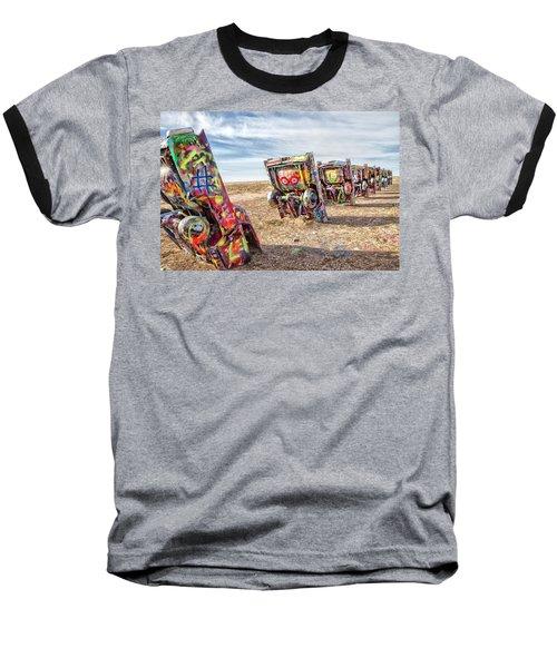 Cadillac Ranch 1 Baseball T-Shirt