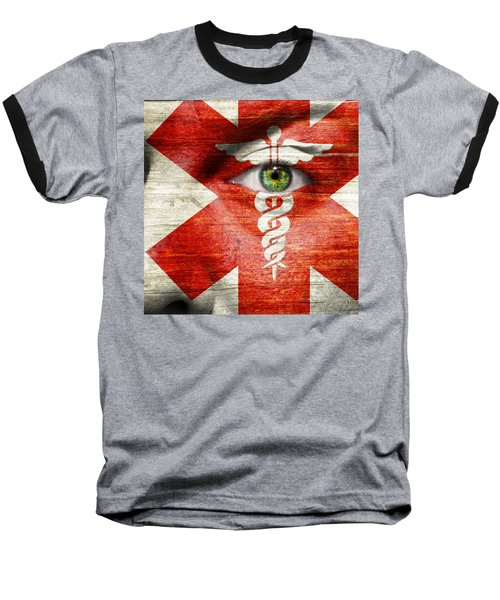 Caduceus  Baseball T-Shirt by Semmick Photo