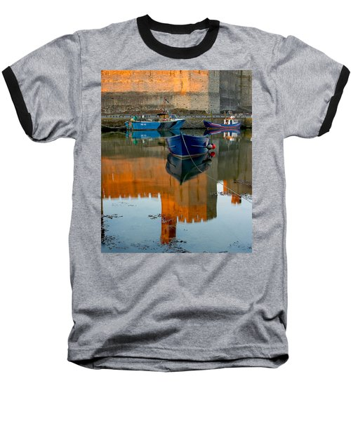 Caernarfon Reflections Baseball T-Shirt