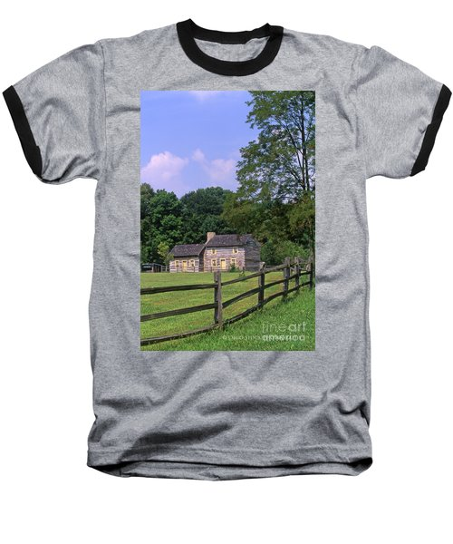 1e140 Caesar Creek Pioneer Village Photo Baseball T-Shirt