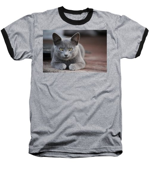 Caesar Baseball T-Shirt by Rowana Ray