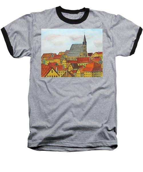 Cesky Krumlov Baseball T-Shirt