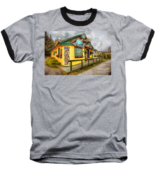 Cafe Cups Baseball T-Shirt