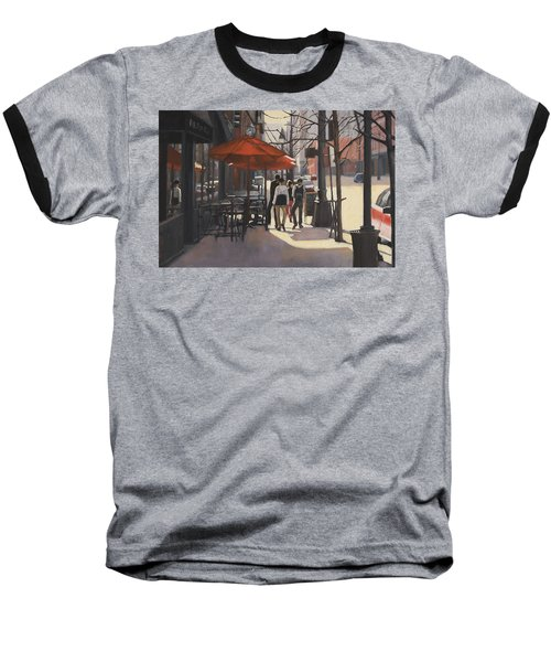 Cafe Lodo Baseball T-Shirt