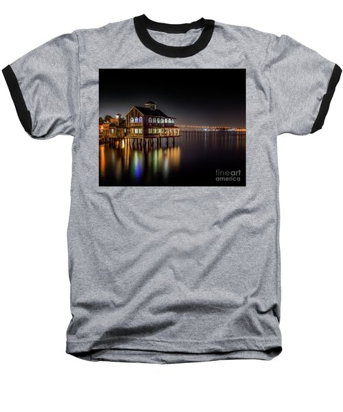 Cafe On The Port Baseball T-Shirt