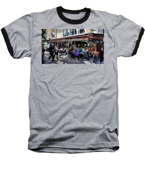 Cafe Baseball T-Shirt