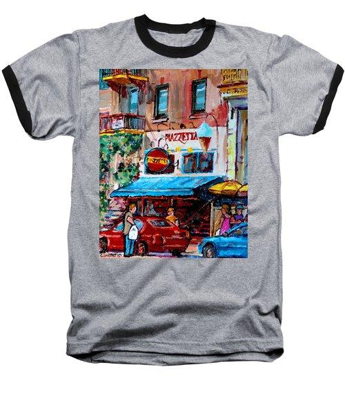 Cafe Piazzetta  St Denis Baseball T-Shirt