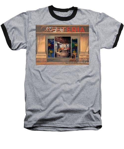 Cafeteria Baseball T-Shirt