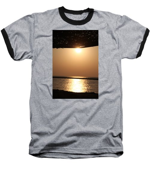Baseball T-Shirt featuring the photograph Caffe Time by Jez C Self