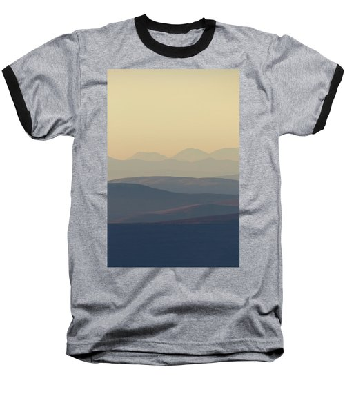 Cairngorms Sunset Baseball T-Shirt