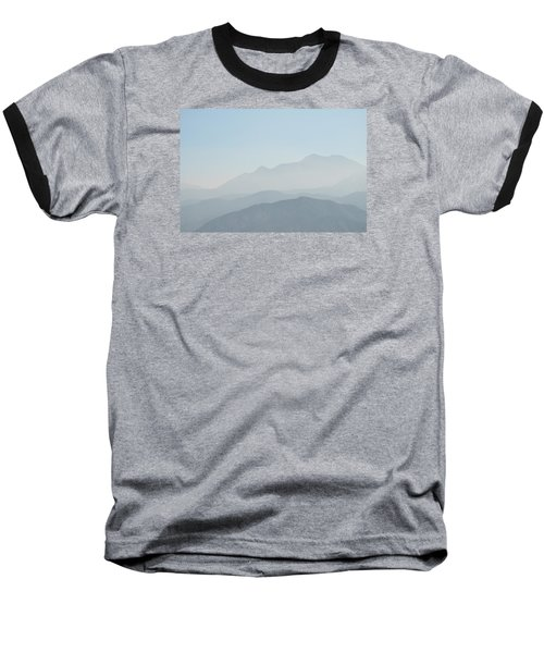 Cajon Pass Haze Baseball T-Shirt