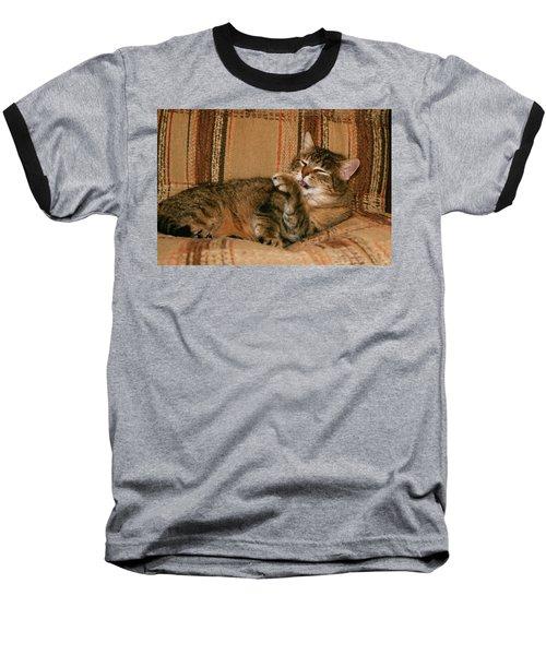 Baseball T-Shirt featuring the photograph Cal-5 by Ellen Lentsch