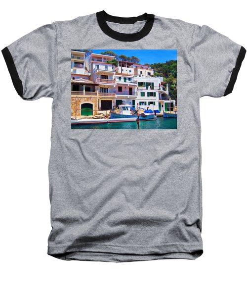 Cala Figuera Baseball T-Shirt by Andreas Thust