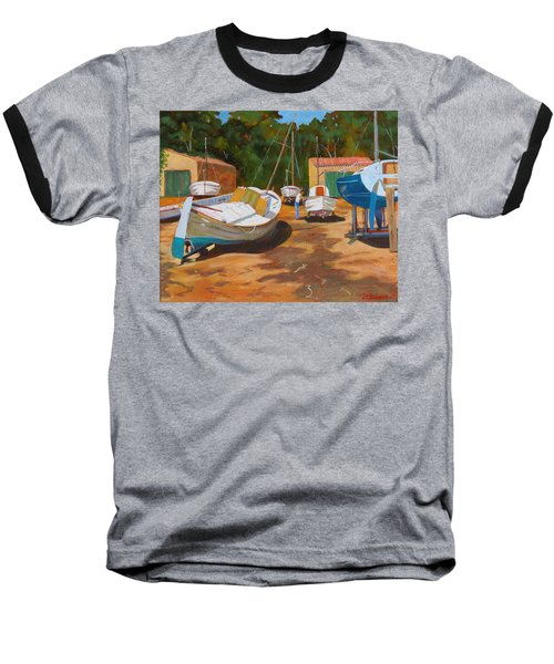 Cala Figuera Boatyard - I Baseball T-Shirt